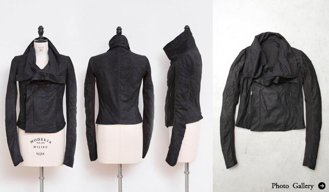 Rick Owens|漆黒に染められた特別仕様のレザージャケットを限定リリース