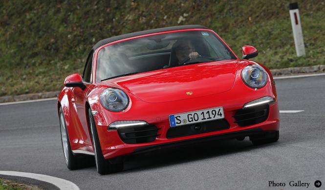 ポルシェ911カレラ4に試乗|Porsche