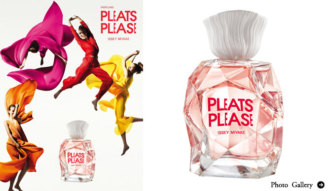 ISSEY MIYAKE|イッセイ ミヤケの新フレグランス「PARFUMS PLEATS PLEASE ISSEY MIYAKE」発表