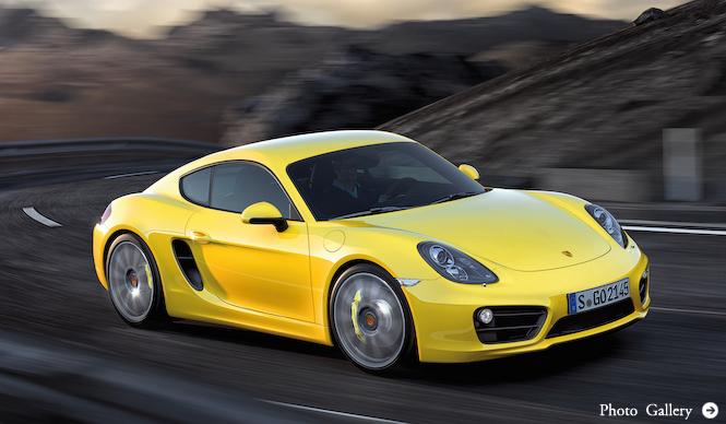 新型ケイマン登場!|Porsche