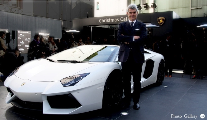 アヴェンタドール ロードスター、日本初上陸|Lamborghini