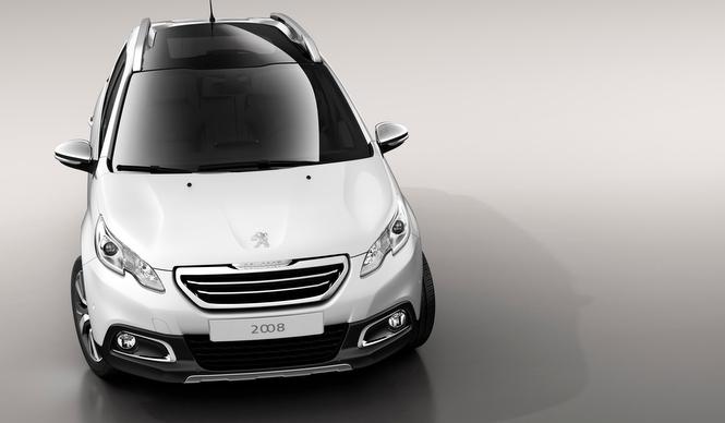 プジョー2008の市販化決定|Peugeot