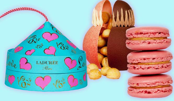 LADURÉE|ラデュレ 男性と女性をイメージしたバレンタイン限定スイーツ登場