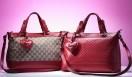 GUCCI|グッチ 左から、トップハンドルバッグ「VALENTAINE」[W33×H23×D16cm]  17万100円、20万4750円