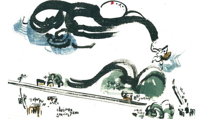 ART|イラストレーター上田みゆき「代官山でつかまえて」展 開催