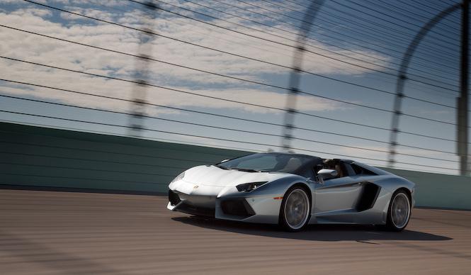 アヴェンタドール ロードスターに試乗 Lamborghini