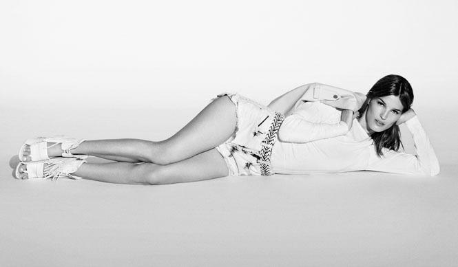 DIESEL BLACK GOLD|モデル&ブロガーのハネリ・ムスタパルタが2013春夏キャンペーンに登場