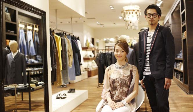 DIESEL|ショップファッションアドバイザーの最新着こなし第1回「六本木ヒルズ」メンズをチェック
