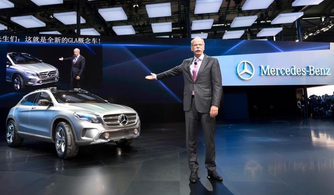 上海現地リポート Mercedes-Benz