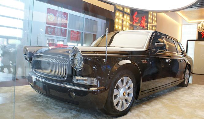 中国車の象徴 紅旗の自社開発モデル|Hong Qi