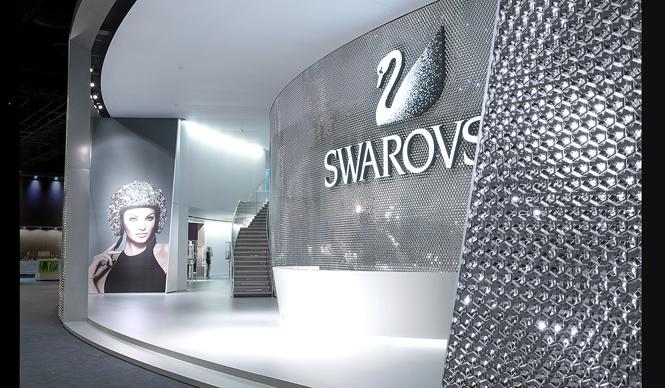 Swarovski|バーゼルワールドで吉岡徳仁が手がけたブースデザイン