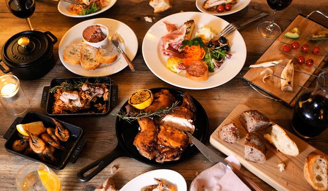 EAT|グランフロント大阪に新業態のカフェ&鉄板バール、オープン|ビブ バール