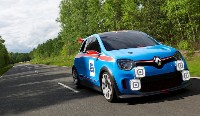ルノー5に捧ぐ、本格スポーツ コンセプトカー登場|Renault