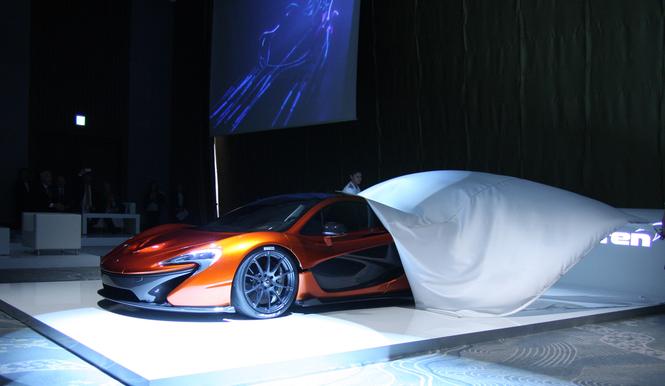 マクラーレン、P1を国内発表|McLaren