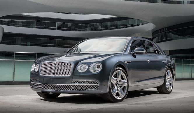 2代目フライングスパーを北京でテスト|Bentley