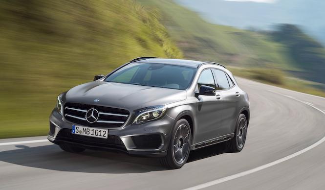 新型コンパクトSUV「GLAクラス」公開|Mercedes-Benz