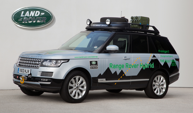 ランドローバーからディーゼルハイブリッド登場 Range Rover