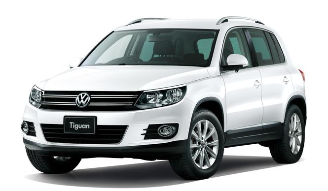 ティグアン、FFモデルをパワーアップ Volkswagen