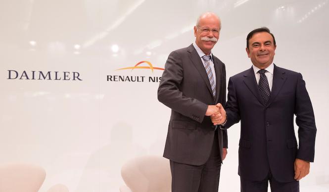 ルノー・日産アライアンスとダイムラーの世界戦略|Renault-Nissan & Daimler