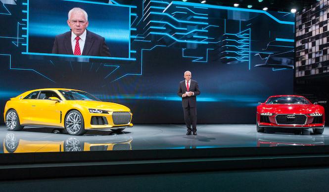 フランクフルト現地リポート Audi