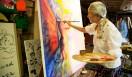 「それまでどんな大きな絵を描いても、どんな展覧会をやっても、自分がアーティストであるというのを確信できなかったの」(乃り子)