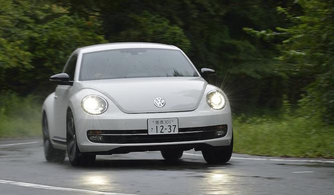 フォルクスワーゲン ザ・ビートル ターボに試乗|Volkswagen