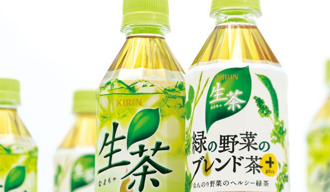 西澤明洋(EIGHT BRANDING DESIGN) 生茶(2009~2012) キリンビバレッジの主力緑茶ブランド
