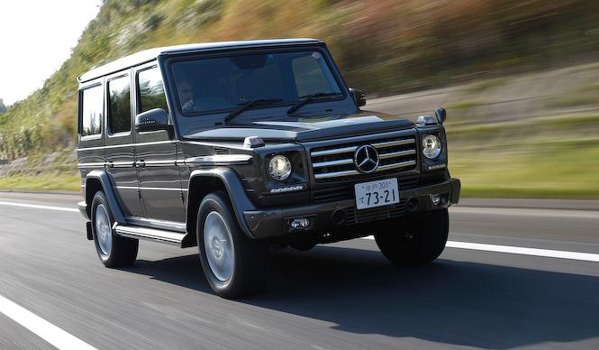 23年ぶりに導入されたGクラスのディーゼルをためす|Mercedes,Benz
