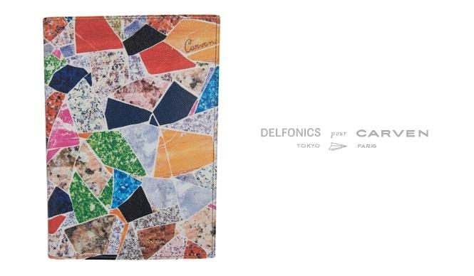 CARVEN|カルヴェンとデルフォニックスがコラボ! 2014年版ダイアリー発売