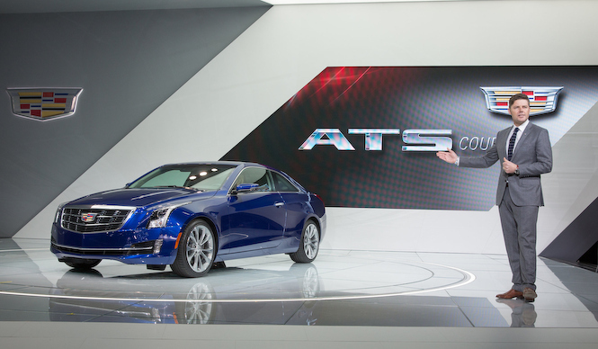 ATSにスタイリッシュなクーペを追加|Cadillac