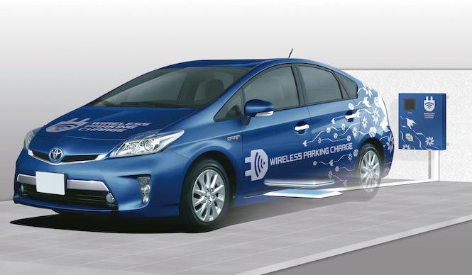 トヨタがワイヤレス充電の実証実験をスタート|Toyota