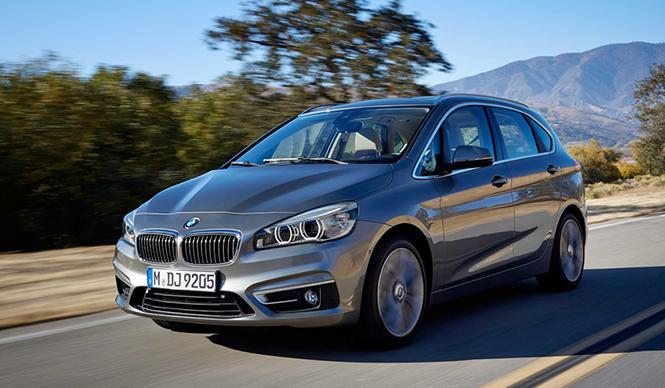BMW初のFFモデル、2シリーズ アクティブツアラー登場|BMW
