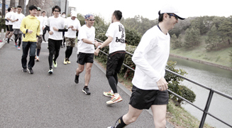Run for Children Tohoku in adidas RUNBASE 2014 02