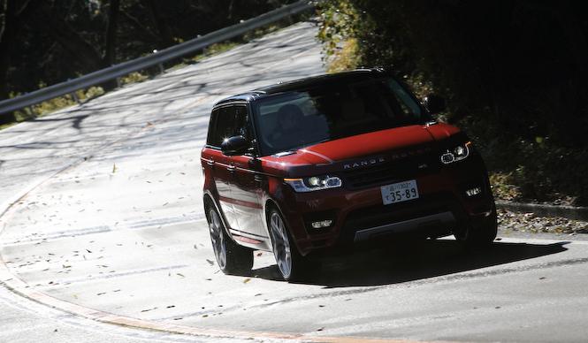 新型レンジローバー スポーツに試乗|Range Rover