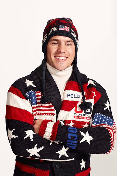 RALPH LAUREN|ラルフ ローレン ソチオリンピックのアメリカ代表選手団の公式ユニフォーム披露  オリンピックアメリカ代表 アイスホッケー Zach Parise(ザック・パリーゼ)