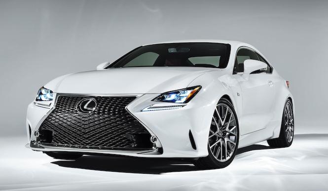 レクサスRCにF SPORTとレーシング版が登場|Lexus