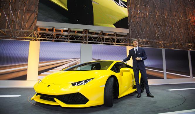 ランボルギーニ「ウラカン」、待望のワールドプレミア|Lamborghini
