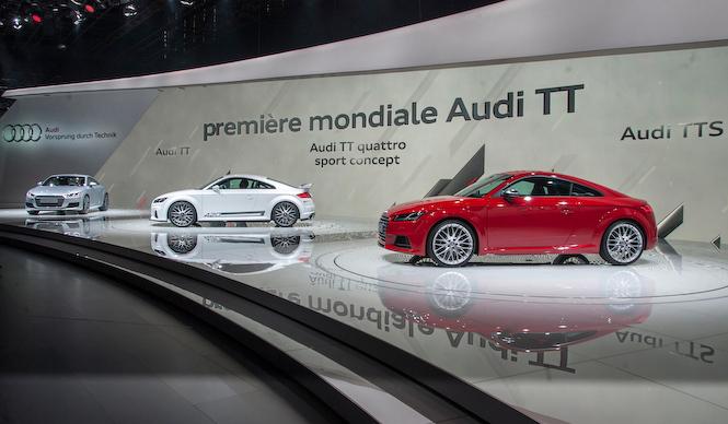 第3世代となるアウディ新型TTが登場