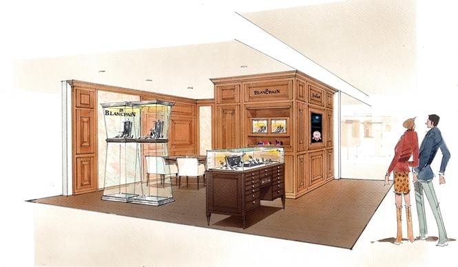 BLANCPAIN|さっぽろ東急百貨店に「ブランパンコーナー」がオープン
