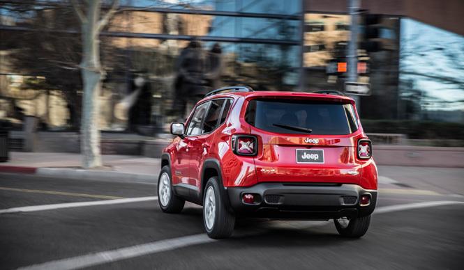 ジープ初のスモールモデル、「レネゲード」が登場 Jeep