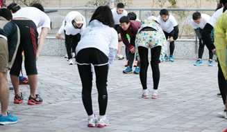 Run for Children Tohoku in adidas RUNBASE 2014 05