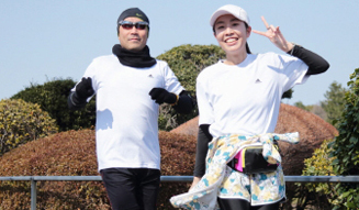 Run for Children Tohoku in adidas RUNBASE 2014 09