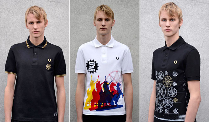 FRED PERRY|「FRED PERRY × Jamie Reid」ポロシャツ