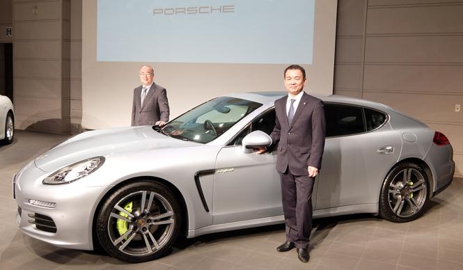 パナメーラ S E-ハイブリッドを日本導入|Porsche