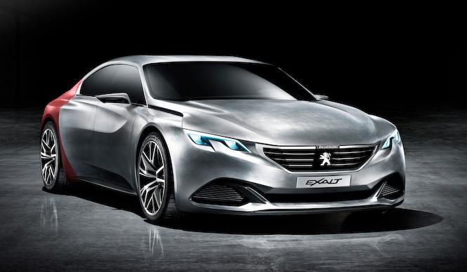 プジョーのコンセプトモデル、イグザルトが公開 Peugeot