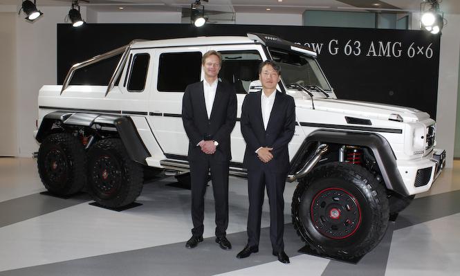 6輪駆動のG 63 AMGを日本で限定販売|Mercedes-Benz