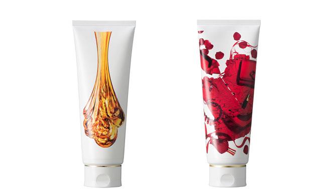 HACCI|「赤と香水」がテーマのパフュームシャンプー&コンディショナー