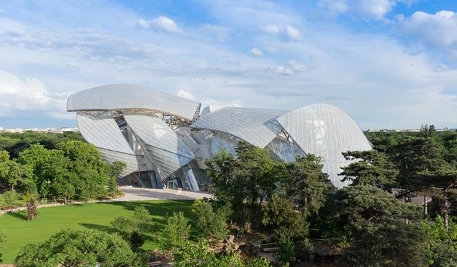 ART 現代アート美術館「ルイ・ヴィトン ファウンデーション」が10月開館
