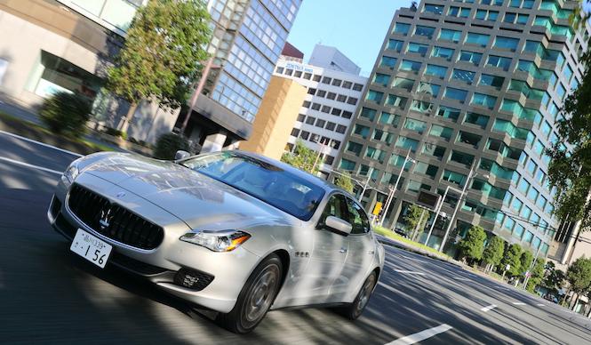 新型クアトロポルテ×ふたりの意見(九島辰也 篇)Maserati