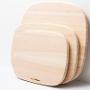 more trees|深澤直人氏デザインによる、やわらかな曲線のまな板